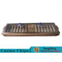 China Entertainment Casino Dedicated Metal Chip Tray Space - Saving With 14 Row wholesale