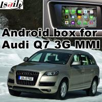 Buy cheap GPS car navigation box interface for Audi Q7 , multimedia video interface product