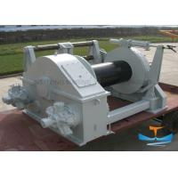 Buy cheap 10t Electric Tugger Winch , Electric Boat Winch With Strap Customized Drum Size from wholesalers