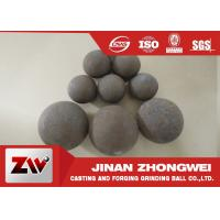 China Forged and high cr cast grinding ball for ball mill used in mining wholesale