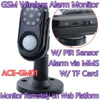 Quality Home Intelligent GSM Wireless Photo MMS Alarm Camera Monitor W/ PIR Theft for sale
