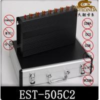 China Power Adjustable Cell Phone Signal Jammer / cell phone Signal Booster wholesale
