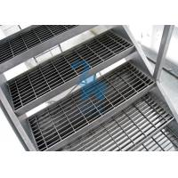 Quality Galvanized Surface Metal Drain Grate Hollowed Ladder Stand 915mm Width for sale