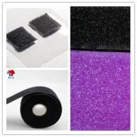 China Pre-coated dry adhesive hook and loop fastener tape on sale