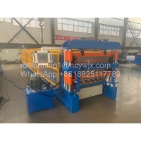 China Three Layer Roofing Sheet Roll Forming Machine wholesale