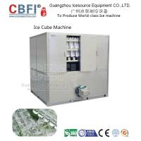 Quality Large Stainless Steel 5 Ton Cube Ice Machine Energy Saving Directly Cooling for sale