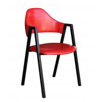 Buy cheap dining chair,pu seat,steel legs from wholesalers