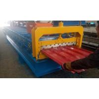 4kw 380V PPGI Roof Panel Roll Forming Machine For 840mm Width Steel Tiles