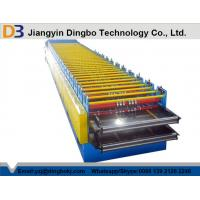 China Roof use tile roll forming machine , roofing sheet double layer roll forming machine wholesale
