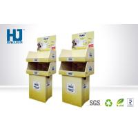 Quality Customized Pet Food Cardboard Pallet Display POP Corrugated Pet Store Double for sale