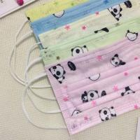 China Hypoallergenic 3 Ply Surgical Face Mask  Cartoon Printing Good Air Permeability wholesale