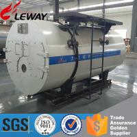 China 3-Passes Spiral Fire Tube Fuel Diesel Oil, Heavy Oil ,Gas Steam Boiler With European Burner And Siemens Controller wholesale