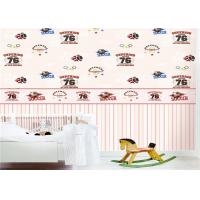 Quality Colourful Kids Bedroom Wallpaper Non - Toxic For Boys / Girls , Free Samples for sale