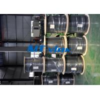 China Welded Single / Multi Core Stainless Steel Coiled Tubing TP304L 316L Seamless wholesale