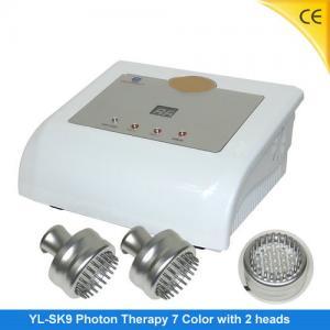 China Salon Use Photon LED Skin Rejuvenation With 2 Photon Heads , Wrinkle Removal Machine YL-E09 wholesale