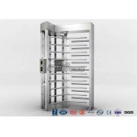 Quality High Security Full High Turnstile Access Control With Biometric Reader for sale