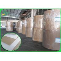 China 450gsm FSC C1S Grey Back Paper For Carton Width 1300mm Jumbo Roll wholesale