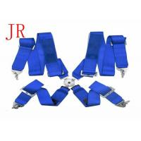 China Competition Car Safety Seat Belts , Cam - Lock 3 Inch 4 Point Harness Seat Belt wholesale