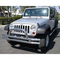 China Black Jeep Wrangler Front Bumper wholesale