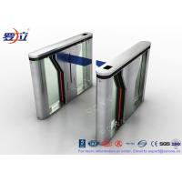 China Pedestrian Intelligent Security Drop Arm Turnstile Access Control with LED Indicator of CE approved wholesale