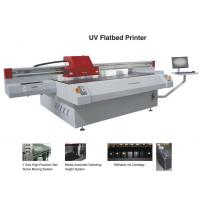 Buy cheap Docan 2.5m UV flatbed printer UV2512 model with Konica KM512-14PL head from wholesalers