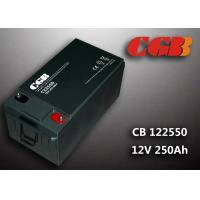 China 12V 255ah Solar Wind System Power Energy Battery / Rechargeable Batteries For Energy Storage wholesale