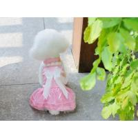 China Nice-looking pink wedding dress for dog cheap dog clothes wholesale