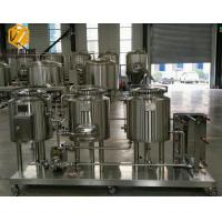 Quality Brewpub Small Brewery Equipment , 2HL Beer Fermentation Nano Brewery Equipment for sale