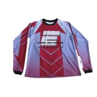China Custom Sublimation Heavy 250gsm Mesh Polyester Motocross Jerseys wholesale