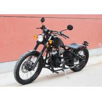 China Smart Shape Bobber Style Motorcycle , 250 Bobber Motorcycle With Free Tool Kits wholesale