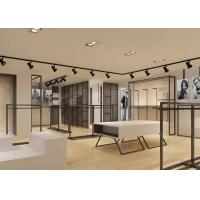 China Elegant Design Men Retail Apparel Fixtures With Dis - Assembly Structures wholesale
