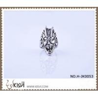 Quality Hot Selling 316l Stainless Steel Death's - Head Ring With Competitive Price H-JK0053 for sale