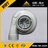 Buy cheap Komatsu bulldozer D155A-6 turbocharger 6505-68-5540, SAA6D140E-5 engine spare from wholesalers
