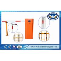 China 80W 110v Infrared Photocell Car Park Barriers Electric Boom Gates on sale