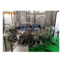 Customized Drink Bottling Machine , 6.68KW Juice Filling And Sealing Machine