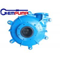 Buy cheap 100D-L Centrifugal Slurry Pump / Mining Slurry Pump ZVZ Drive from wholesalers