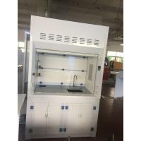 China Laboratory Furniture Safe Ductless Fume Hood Exhuasted System CE / ISO wholesale