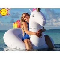 Buy cheap Giant Inflatable Unicorn Water Games Float Inflatable Ride On Unicorn Floating Pool Toys product