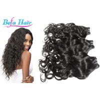 China Colored Ombre / Bright Red Hair Extensions , Kinky Curl / Body Wave Human Hair wholesale