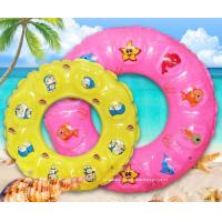 China Summer Children Lifebuoy Ring Inflatable Float Ring Toys for Swimming Pool or Beach Fun wholesale