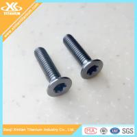 China High Quality and Best Price Metric Gr5 Titanium Torx Flat Head Screws wholesale