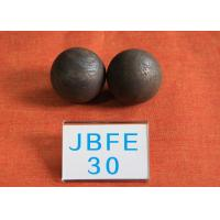 Quality Even Hardness 62hrc - 63hrc B2 D30MM Grinding Media Balls No Surface Defects for Power Stations for sale