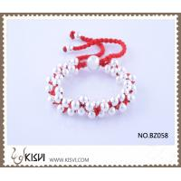 Quality Hot Selling Handmade Bracelet in Red Colour BZ058 for sale