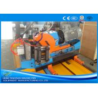China Automatic Blue Cold Cut Saw , Cold Cutting Pipe Equipment Automatic Control wholesale