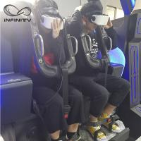 Buy cheap Black / Blue VR Motion Simulator Game Machine Two Seats VIULUX V8 Glasses from wholesalers