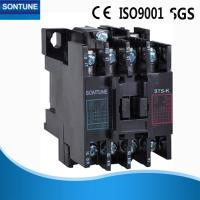 Black Three Phase Magnetic Contactor With Overload RelayFlame Retardant