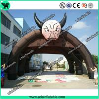 China Brown Promotional Inflatable Tent,Advertising Tent Inflatable,Inflatable Tunnel Tent wholesale