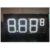 China HD LED gas station price signs / gas electronics scoreboard With wireless controller wholesale