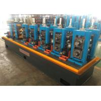 China High Speed ERW Pipe Mill Machine , Stainless Tube Mills One Year Quality Guarantee wholesale