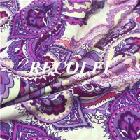 China Holograms Printing Swimsuit Material Fabric , Recolfi Swimsuit Cloth Material wholesale